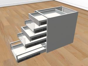 Rollcontainer selber bauen (mit IKEA Metod) – Holz, Licht & Ich